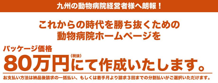 九州の動物病院経営者様へ朗報!